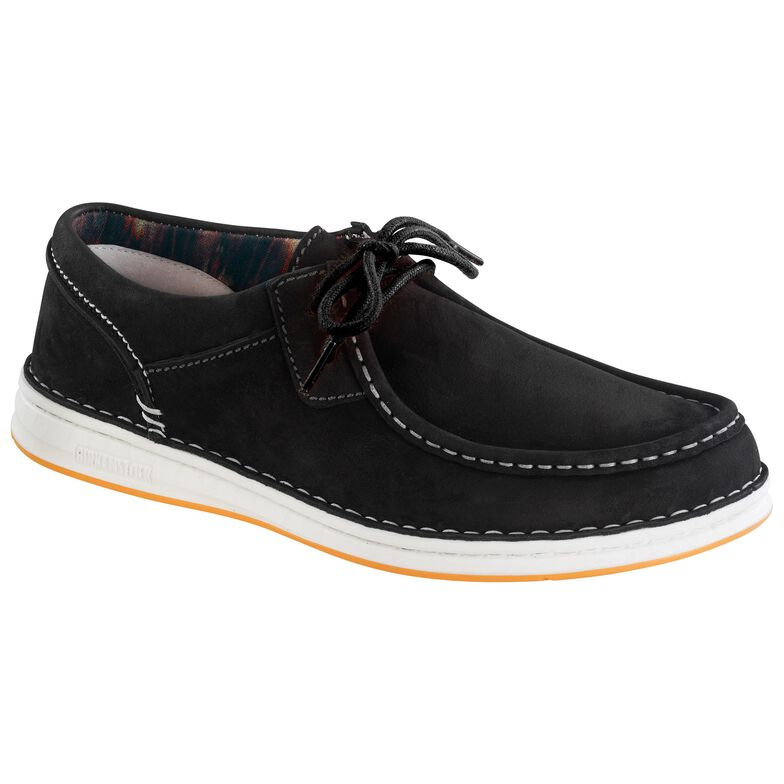 Pasadena Nubuck Leather Black