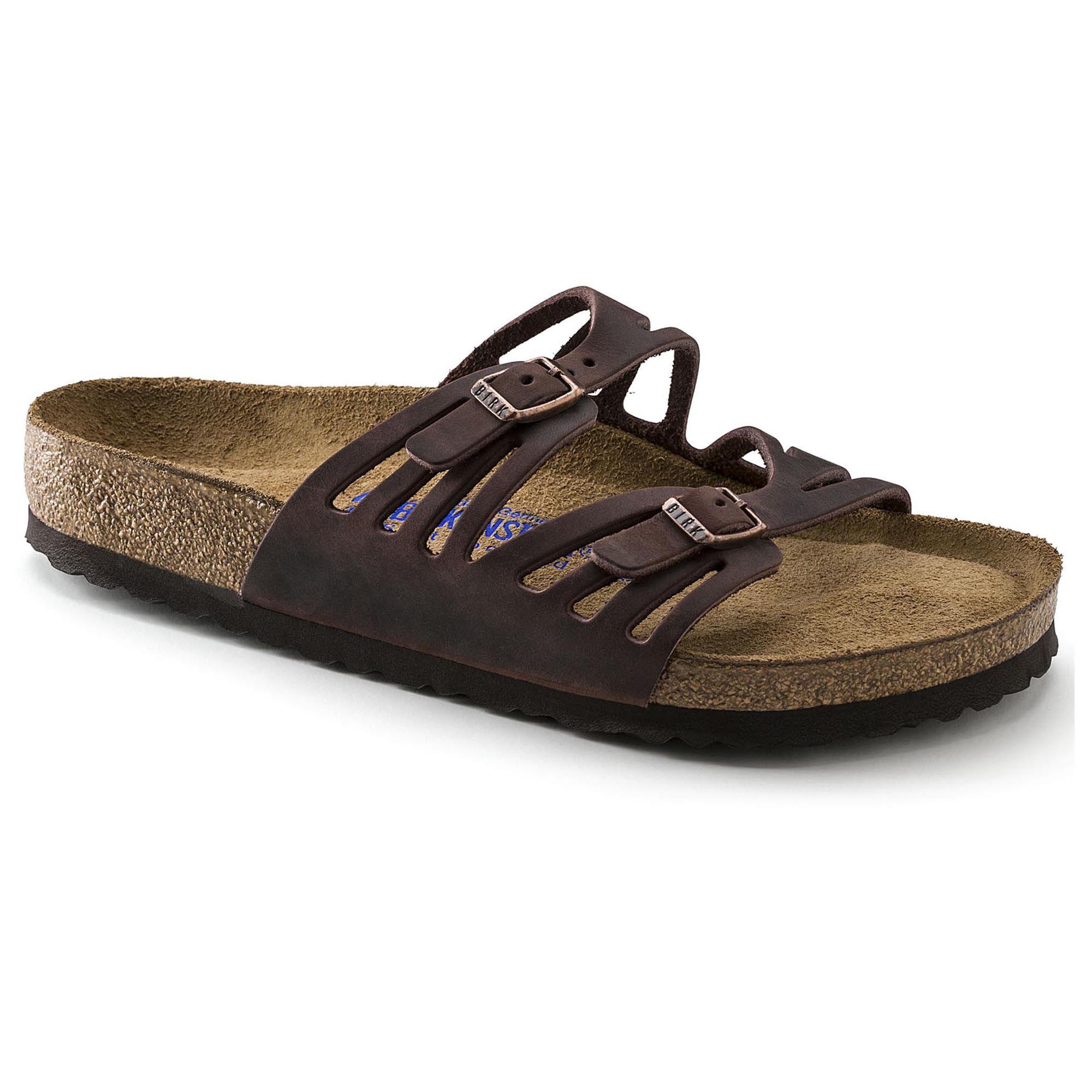 Granada Softbed Leather Sandals y77neN1