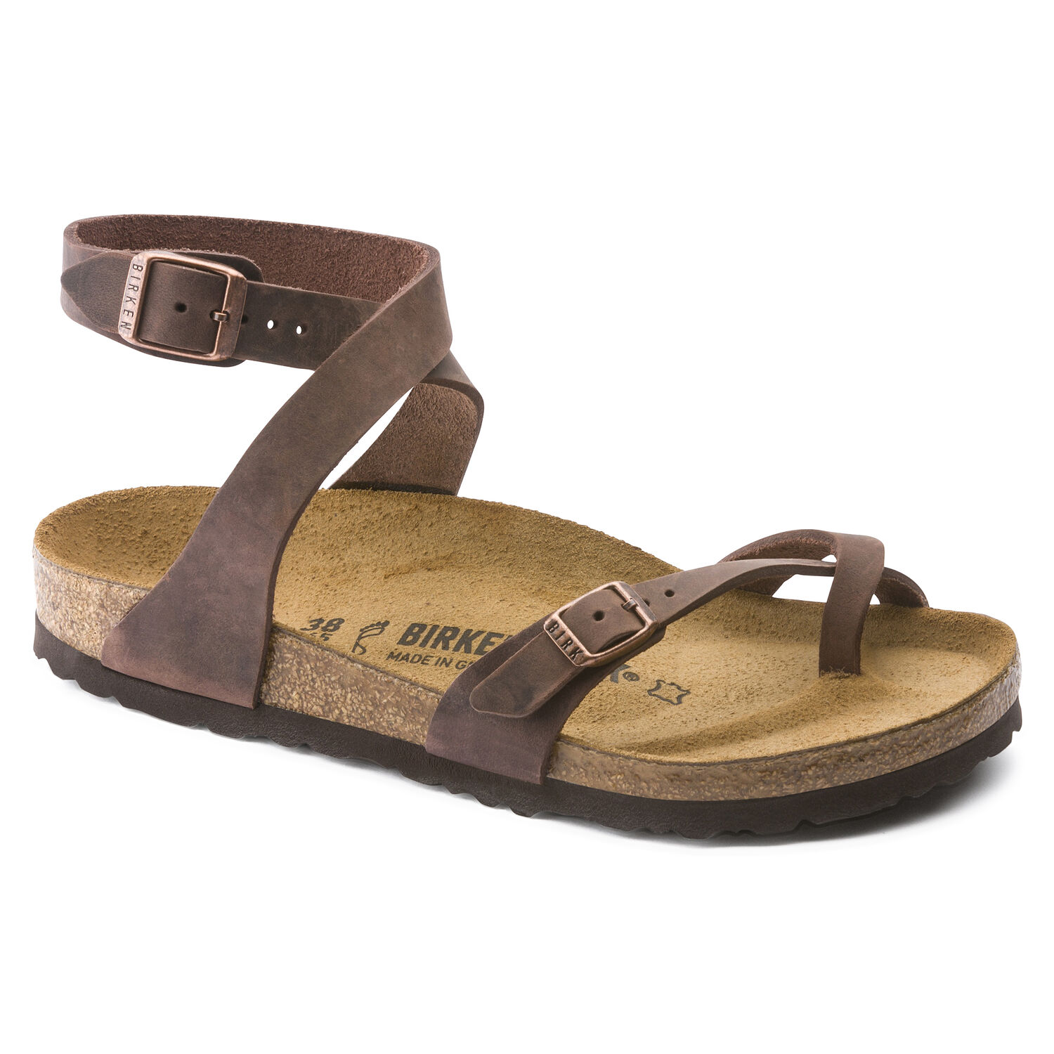 5914cce7c9a8 Yara Oiled Leather | shop online at BIRKENSTOCK