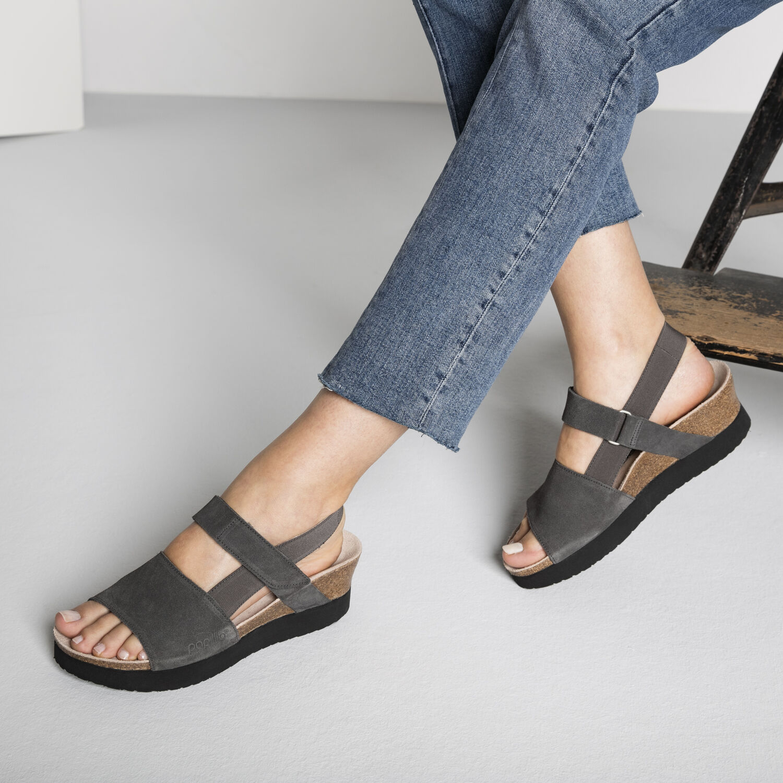 Linda Suede Leather/Stretch