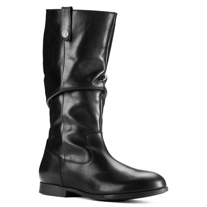 Sarnia Natural Leather Black