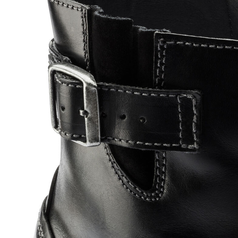 Stowe Natural Leather Black