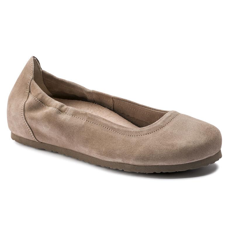 Celina Suede Leather Taupe