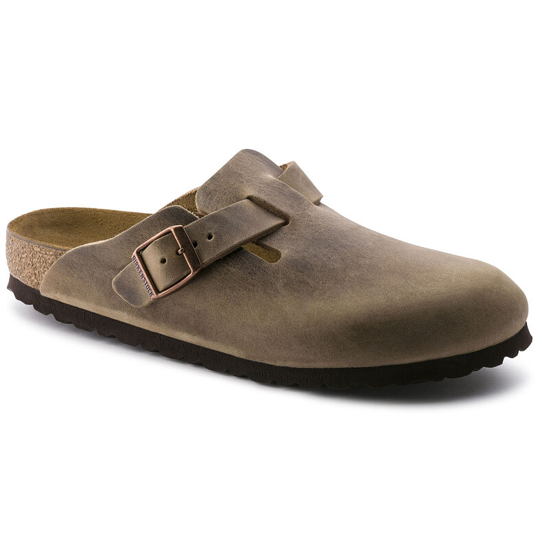 Boston Oiled Leather Tabacco Brown