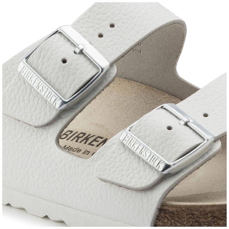 Arizona Nubuck Leather White