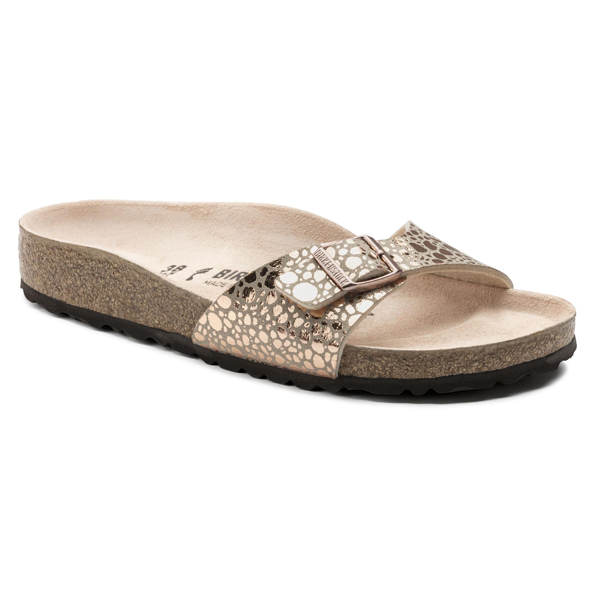 Marques Chaussure femme Birkenstock femme Arizona W Metallic Stones Copper f75db25b359