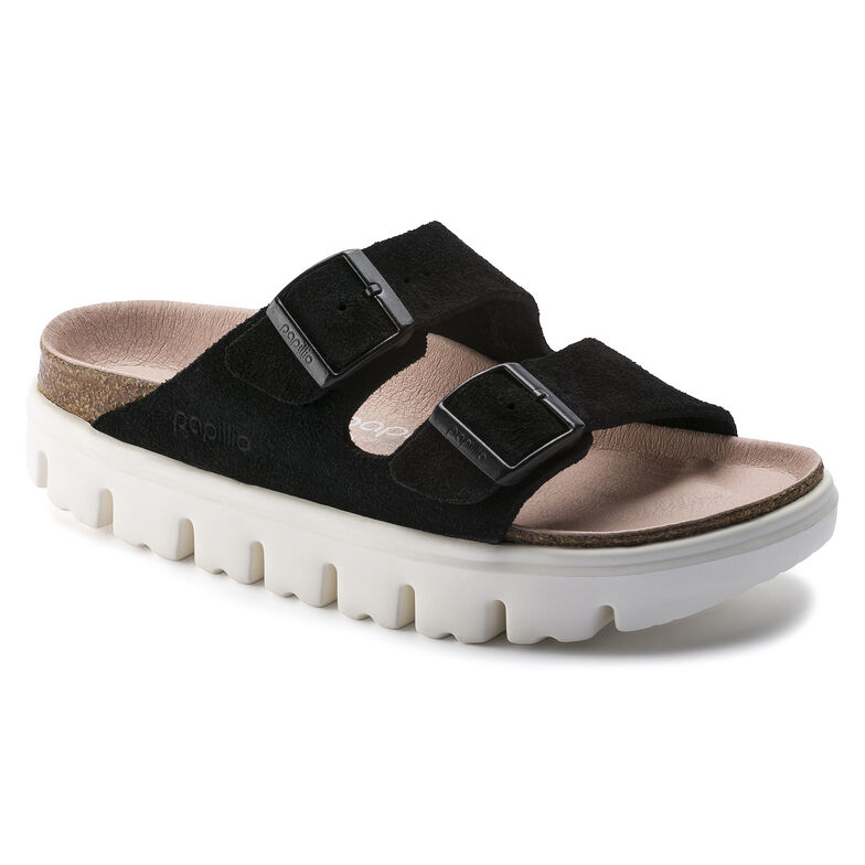 Arizona Suede Leather Chunky Suede Black