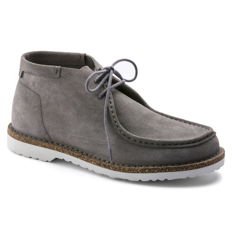 Delano Suede Leather Gray