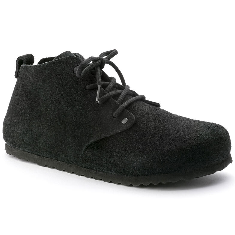 Dundee Suede Leather Black