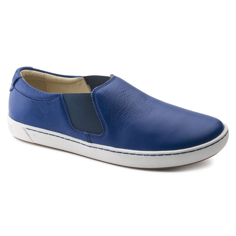 Barrie Natural Leather Blue