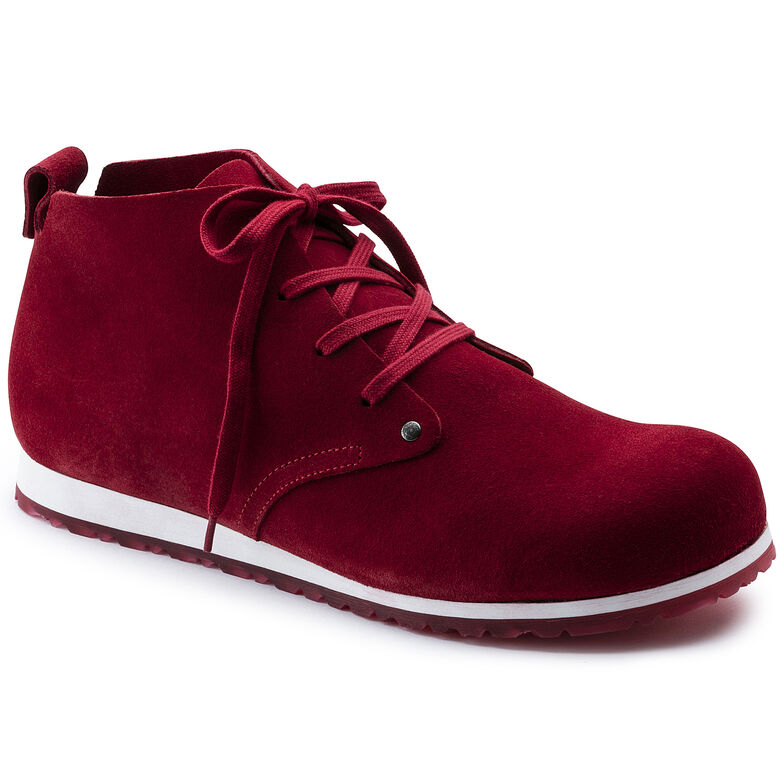 Dundee Suede Leather Red