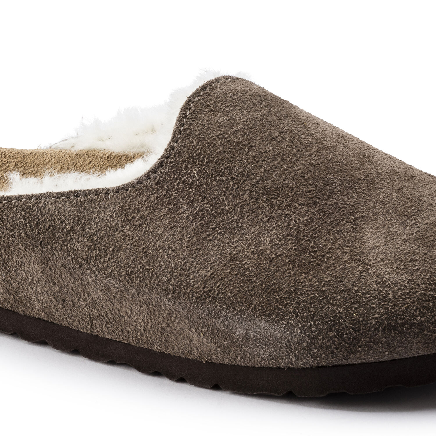 Amsterdam Shearling  Suede Leather