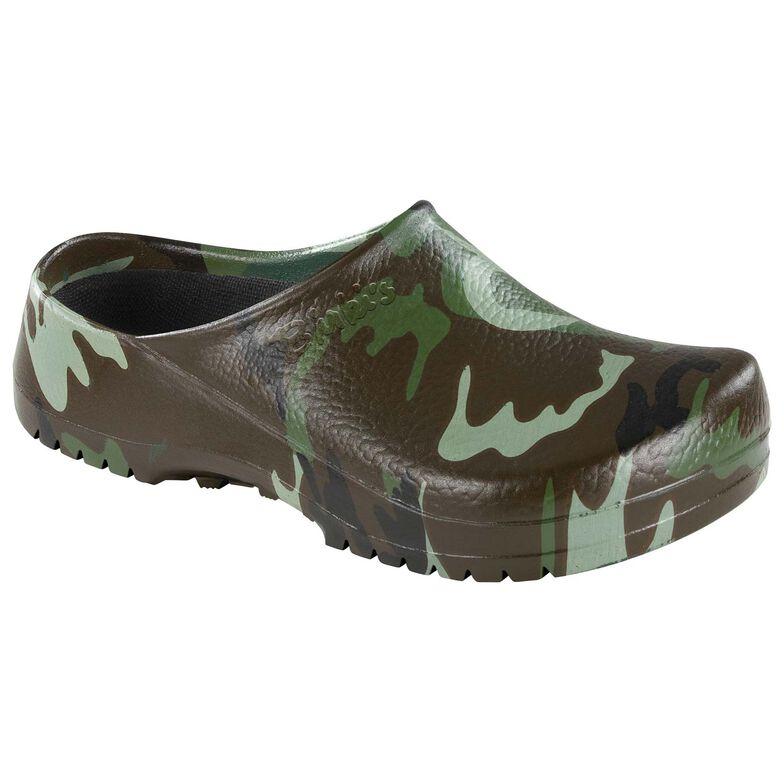 Polyurethane Green Camouflage