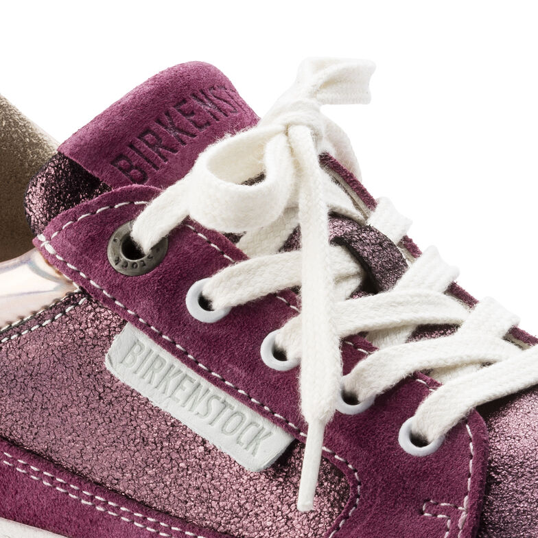 Astee Suede Leather Plum