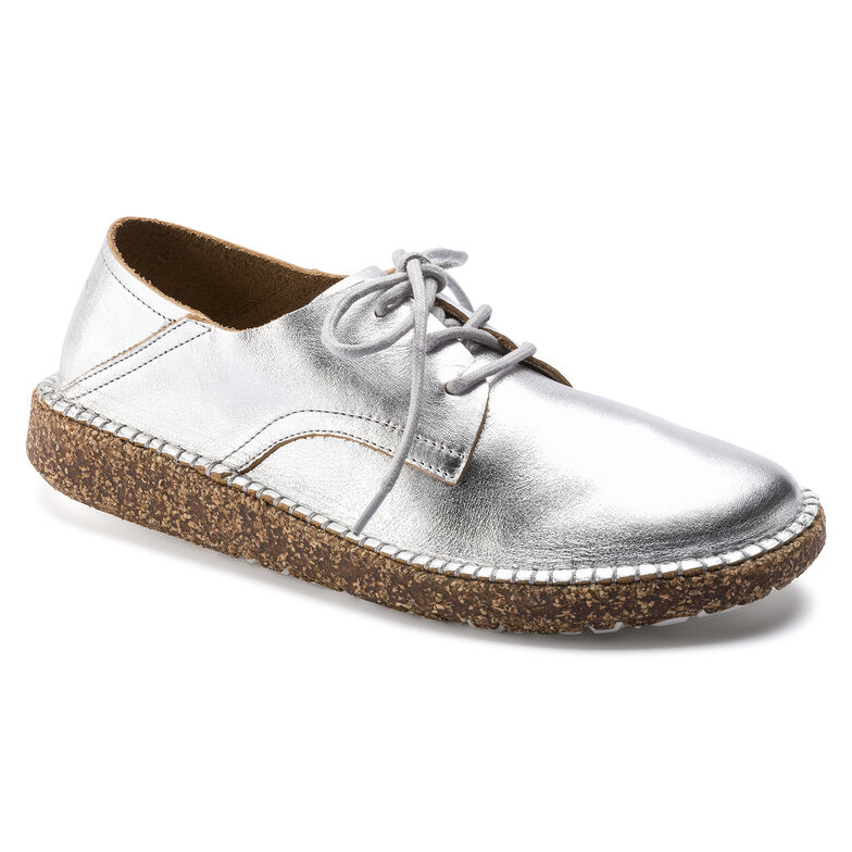 Gary Natural Leather Silver