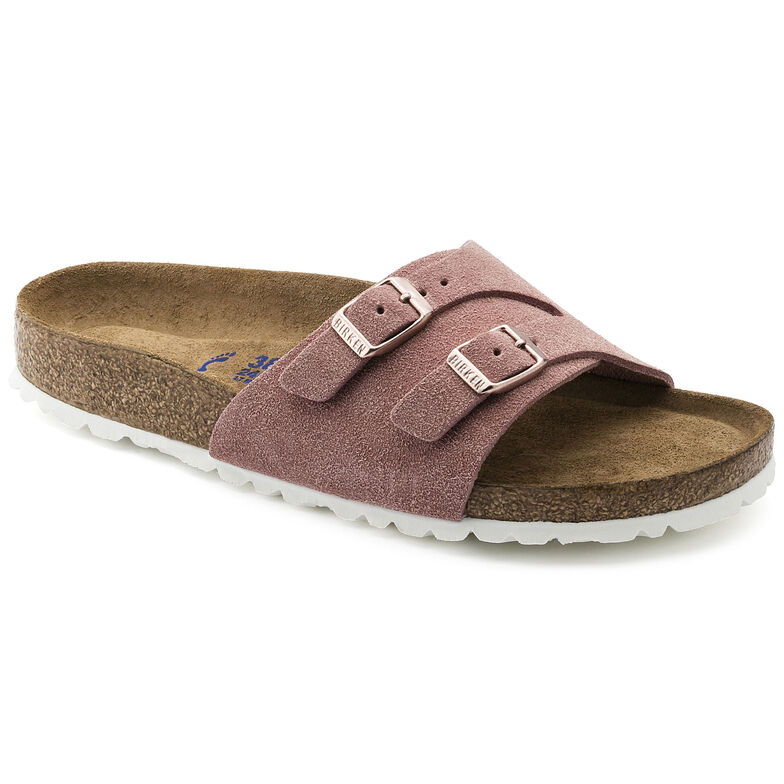 Vaduz Suede Soft Footbed  Rose