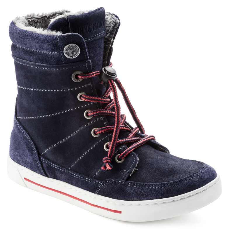 Currow Suede Leather Night Blue