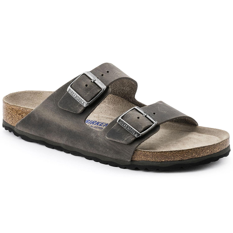 bc80a4f25 Arizona Oiled Leather Soft Footbed Iron
