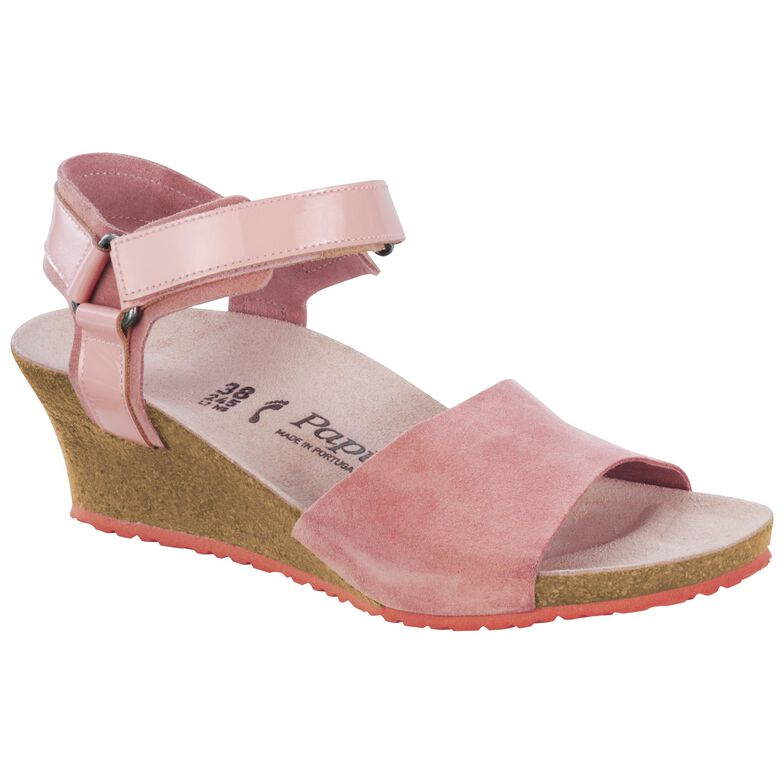 Eve Suede Leather/PVC Rose