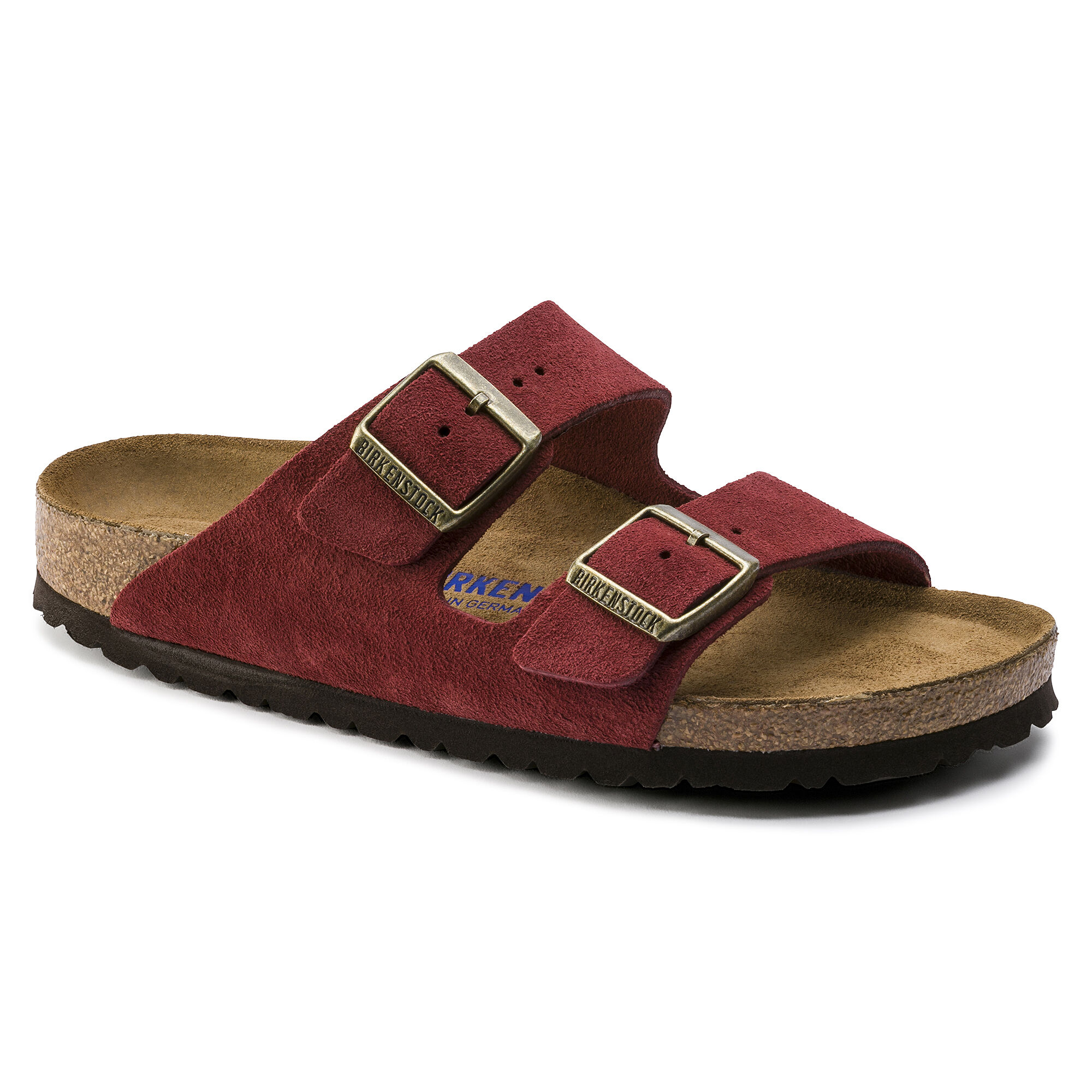2019 Soft New Birkenstock Boston 2019 Footbed Oiled Leather Germany Brand Slippers Red Pink Black Gray Brown Sandals For Women Men From