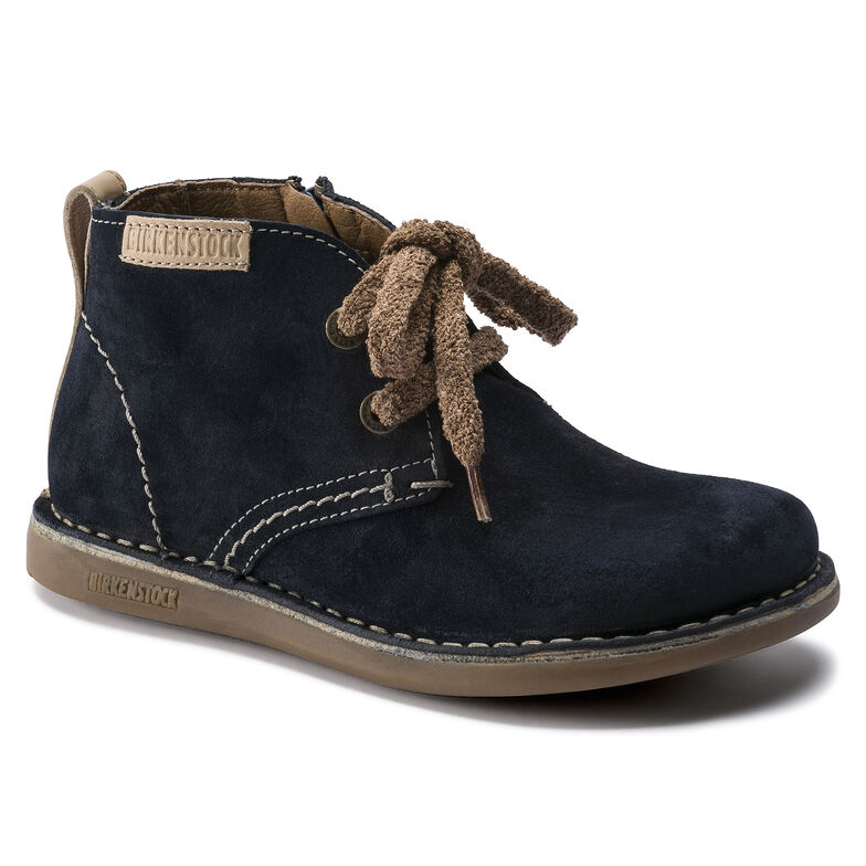 Ariano Suede Leather Navy