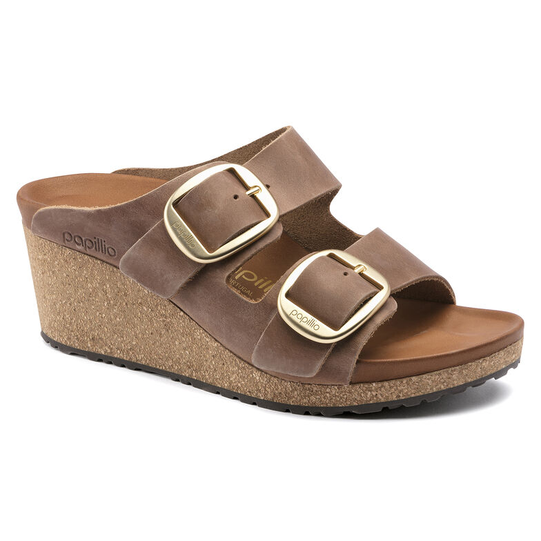 Nora Oiled Leather Cognac