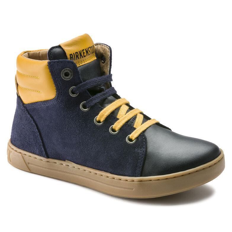 Bartlett Suede Leather Blau