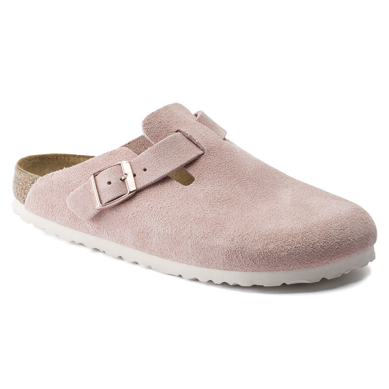 Boston Suede Leather Light Rose