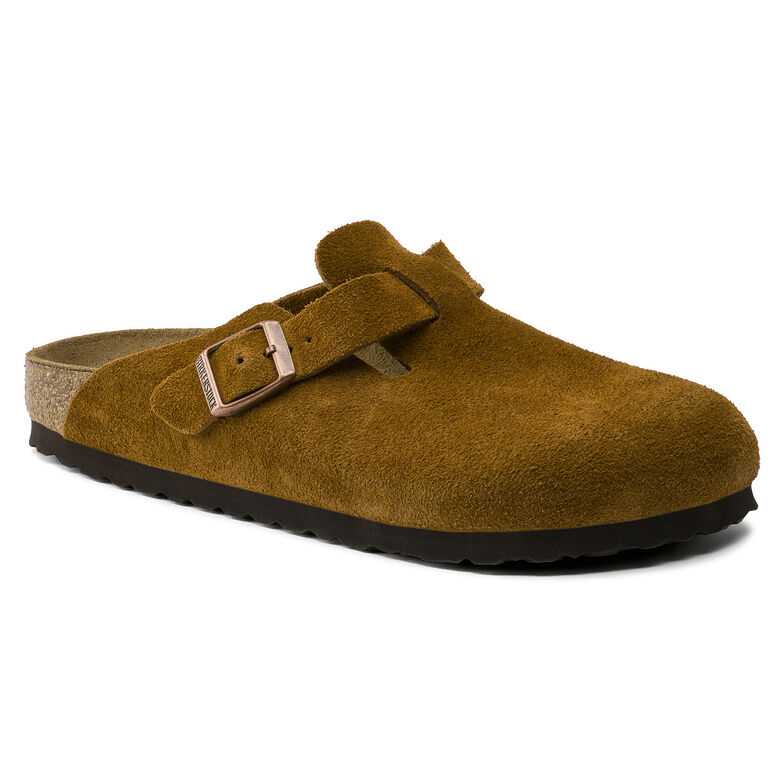Boston Suede Leather Brown