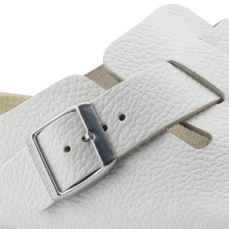 Boston Natural Leather White