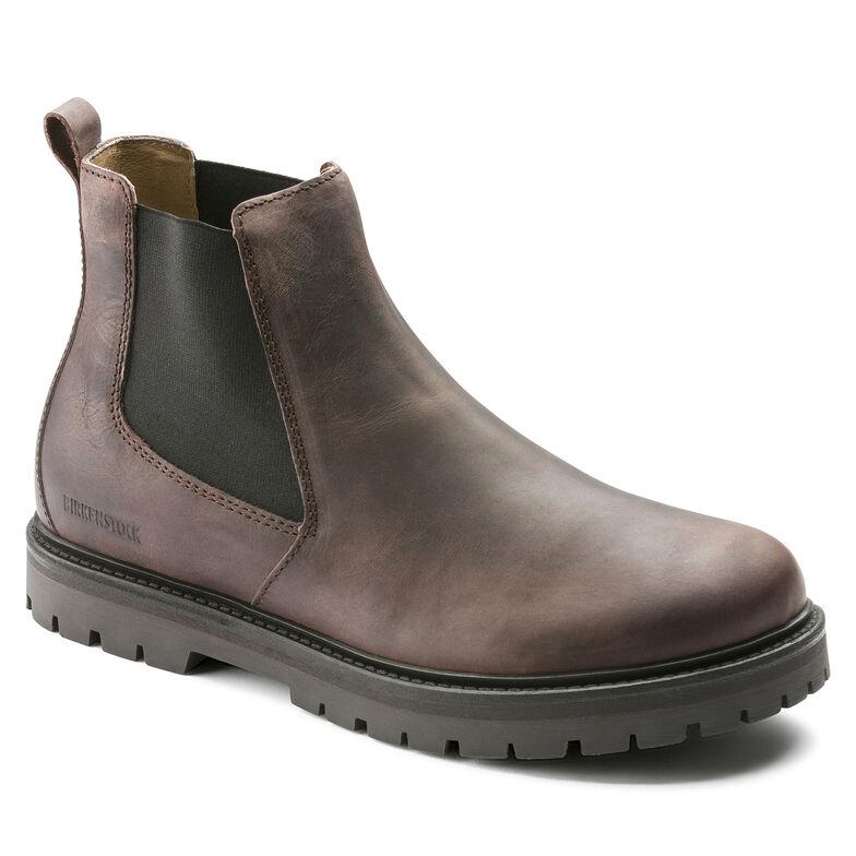 Stalon Nubuck Leather Mocha