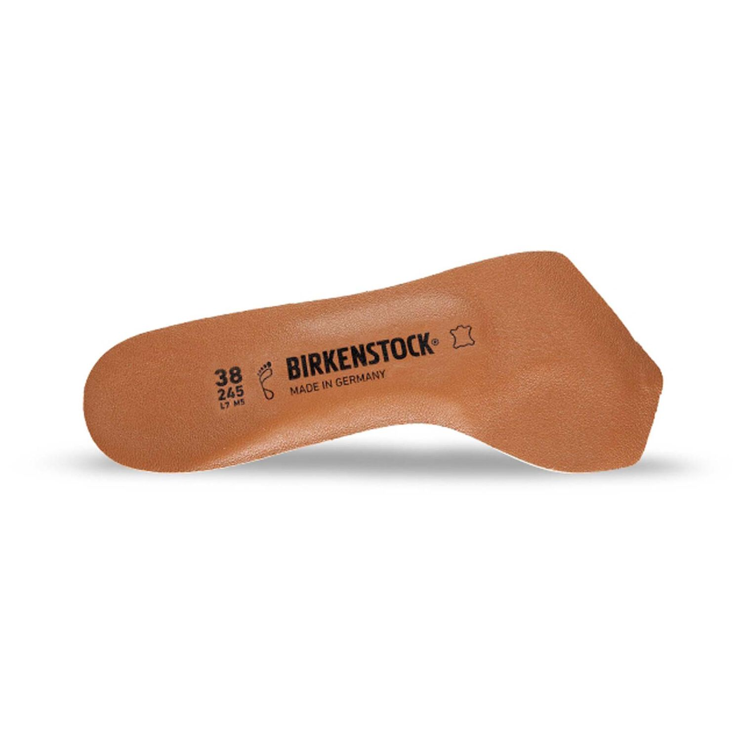 Toeless Insole Leather Lined