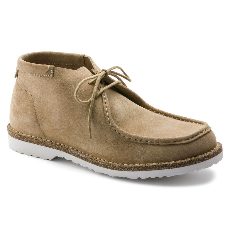 Delano Suede Leather Sand
