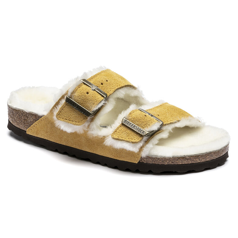 Arizona Shearling Suede Leather