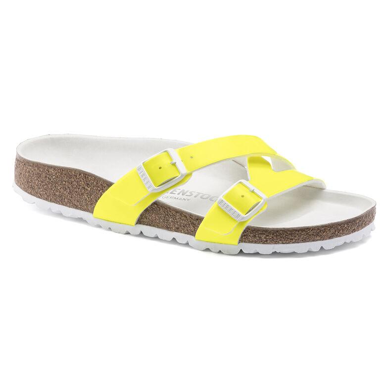 Yao Birko-Flor Patent Neon Yellow