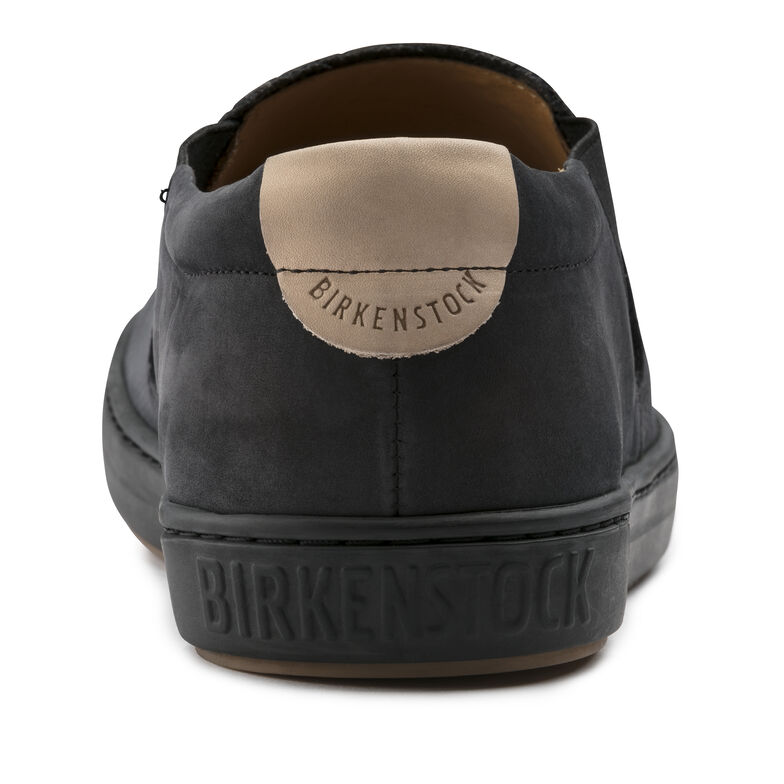 Barrie Nubuck Leather Black