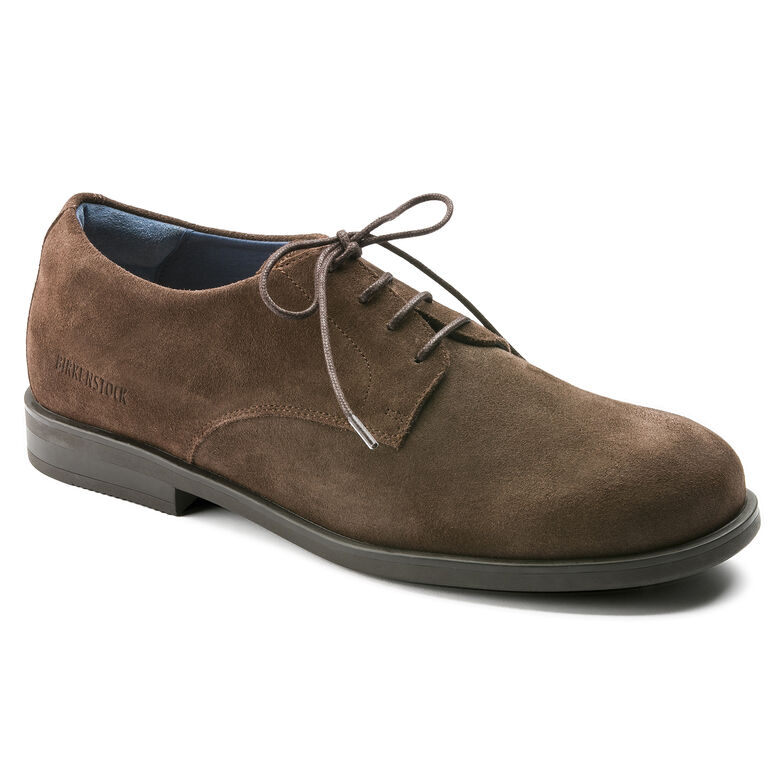 Jaren Suede Leather Mocha