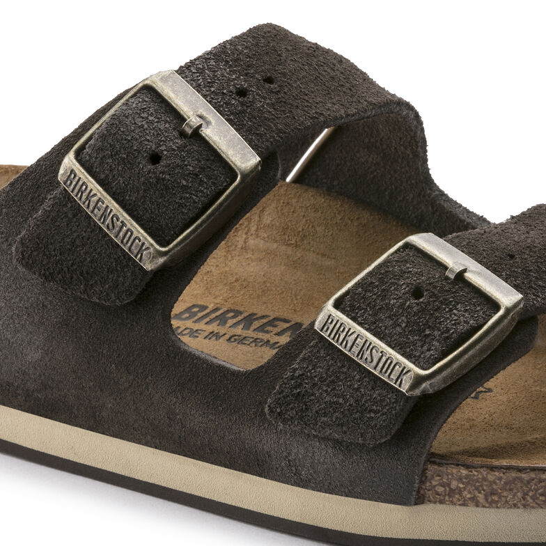 Arizona Suede Leather Brown Finish