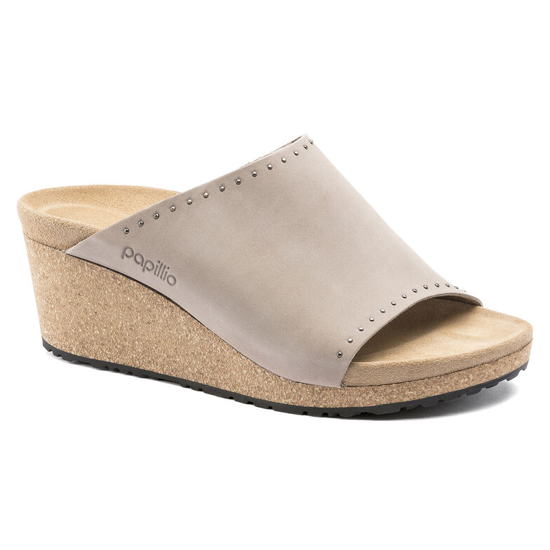 Namica Nubuck Leather Biscuit Rivets