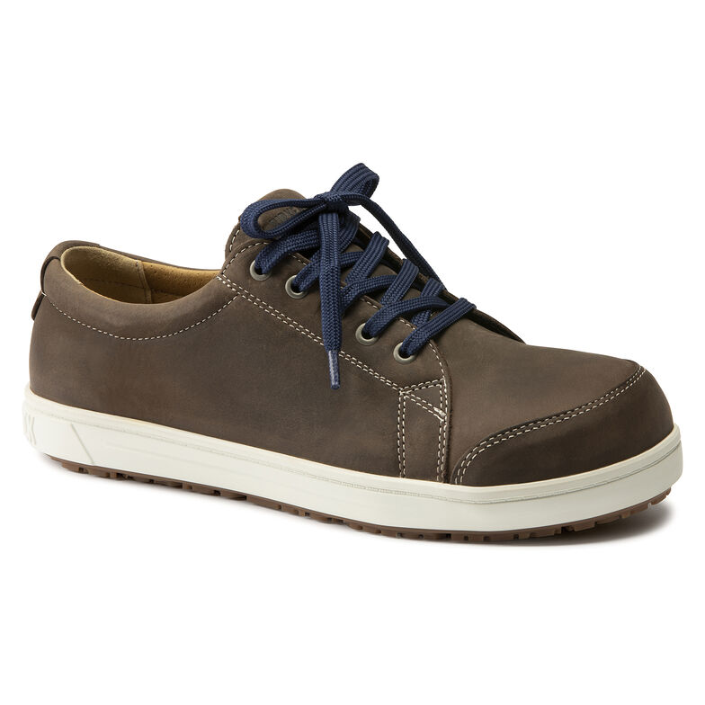 QS Nubuck Leather Brown Oily