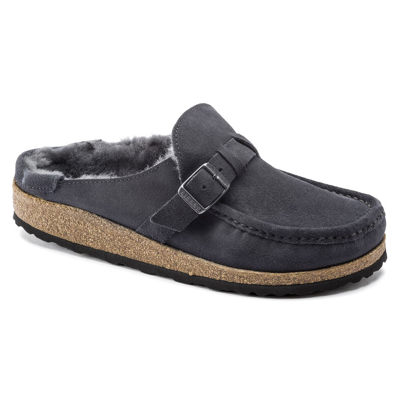Buckley Suede Leather Graphite