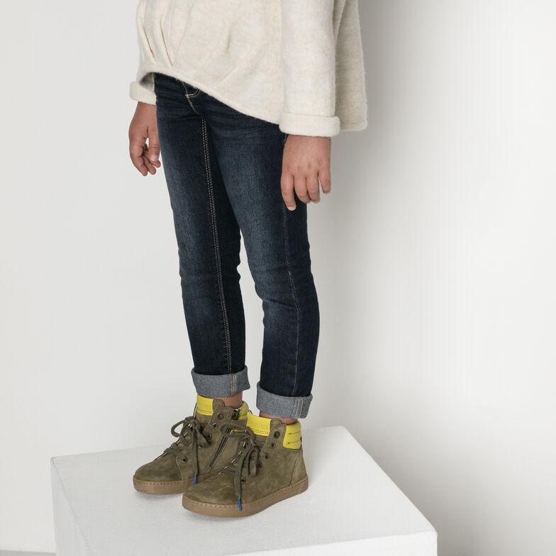 Bartlett Suede Leather Khaki
