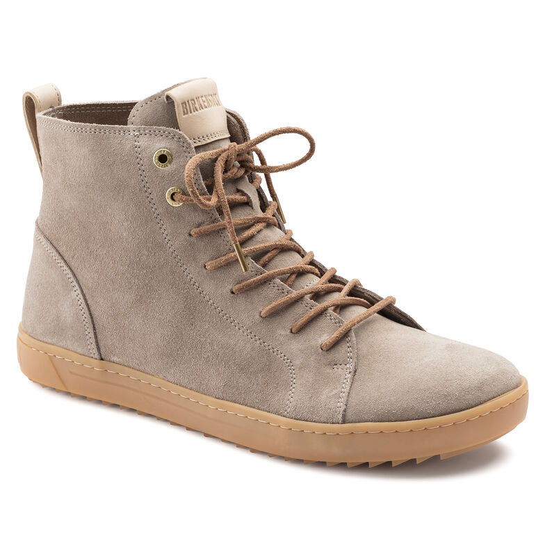 Bartlett Suede Leather Taupe