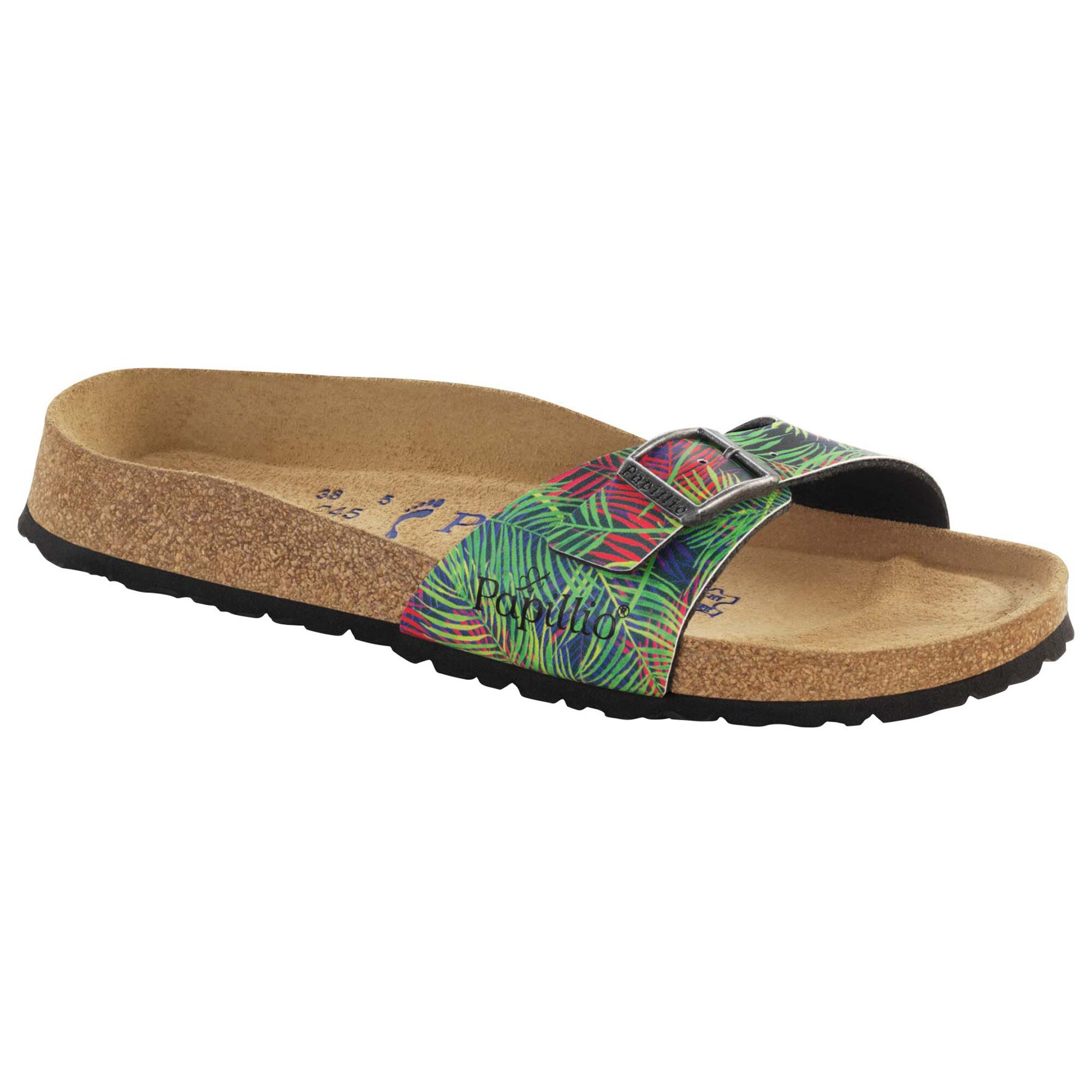 Madrid Birko Flor Tropical Leaf Multicolor