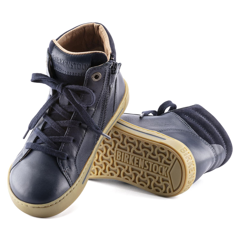 Porto Mid Kids Natural Leather