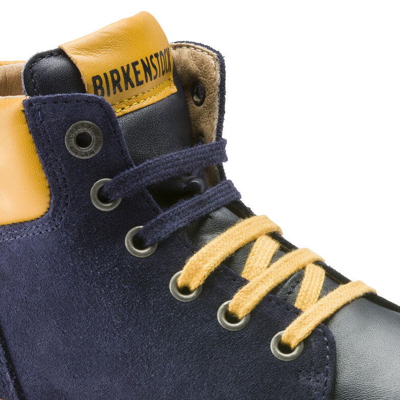 Bartlett Suede Leather Blue