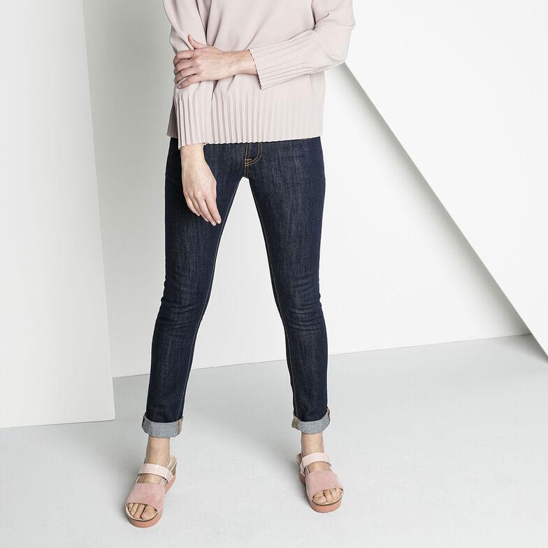 Linda Suede Leather/PVC/Stretch Rose