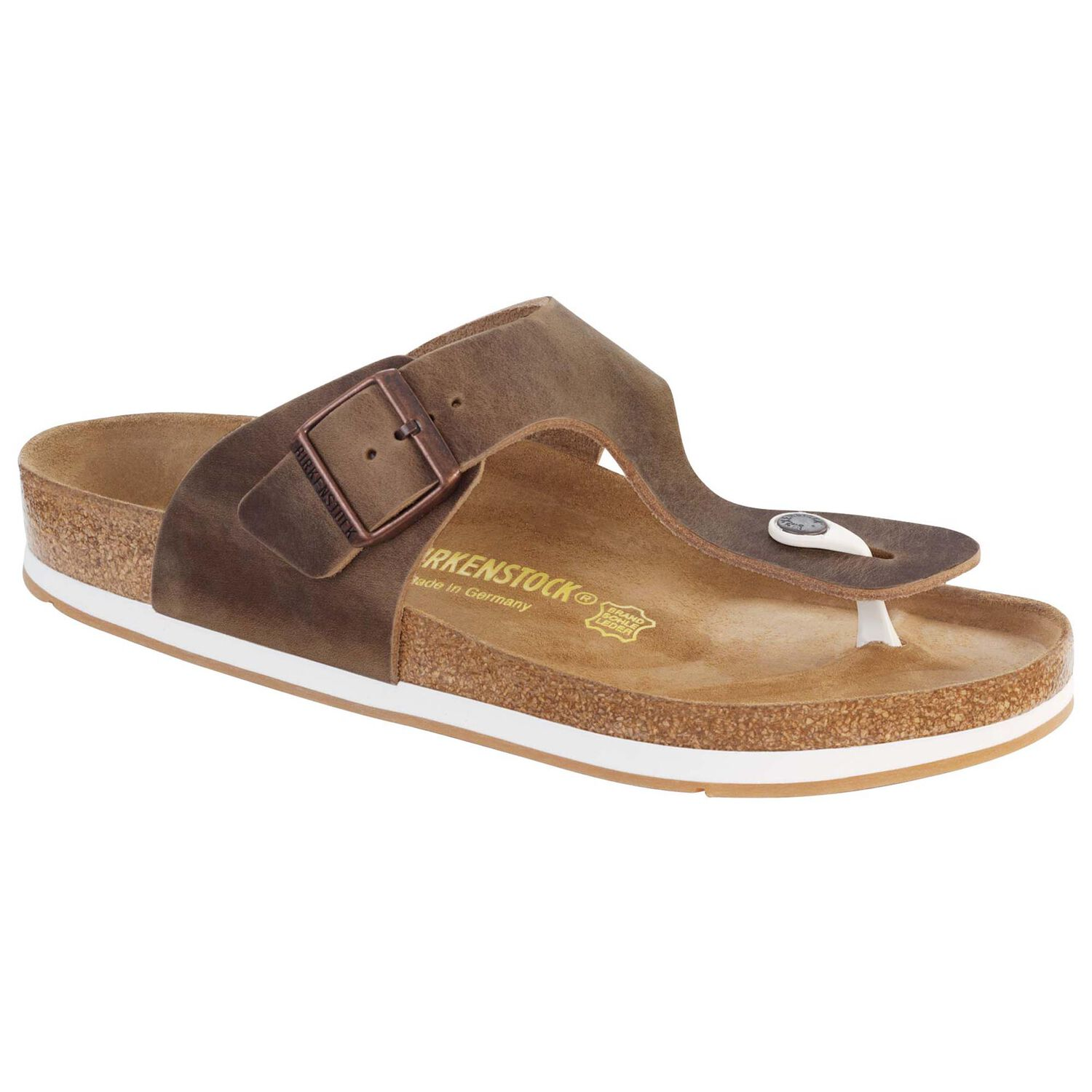 433e9fcba Ramses Oiled Leather Tobacco Brown | shop online at BIRKENSTOCK