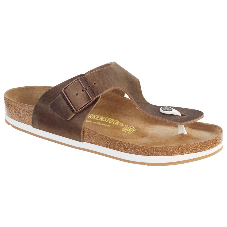 Ramses Oiled Leather Tobacco Brown