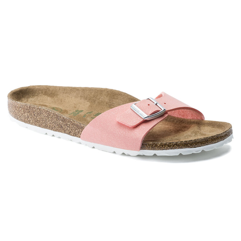 Madrid Birko-Flor Nubuck Brushed Flamingo